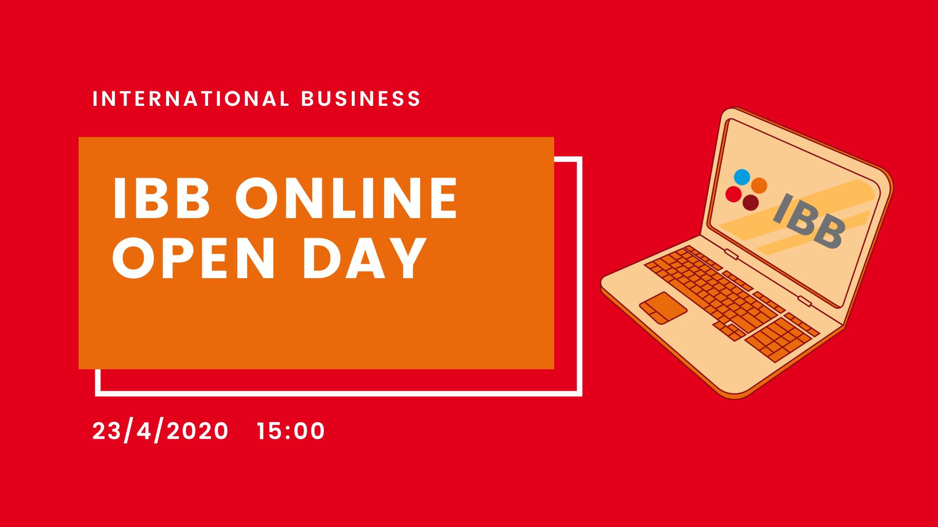 IBB Online Open Day /April 23, 2020/